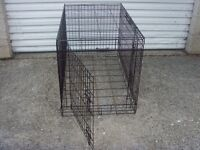 Foldable Dog Crate Cage
