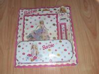 Barbie pencil case set still sealed 1998 mattel