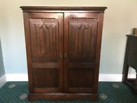 Dark wood, Jaycee TV/video cabinet