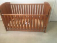 Babies R Us COT BED, WARDROBE, CHEST OF DRAWERS