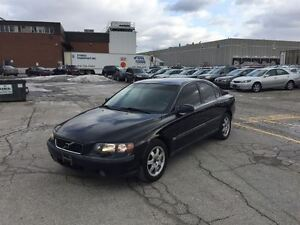 2002 Volvo S60 2.4T A SR AWD ~ LEATHER ~ SUNROOF ~ CERTIFIED ~