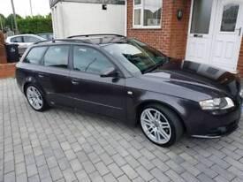Audi A4 S line tdi 170bhp sat nav Black edition