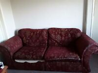 Sofs clean condition selling due to being to big for the new flat im moving to