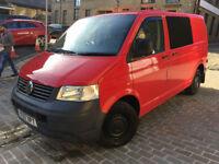 VW Transporter T5 T28 Partly converted camper 2007 £7,300