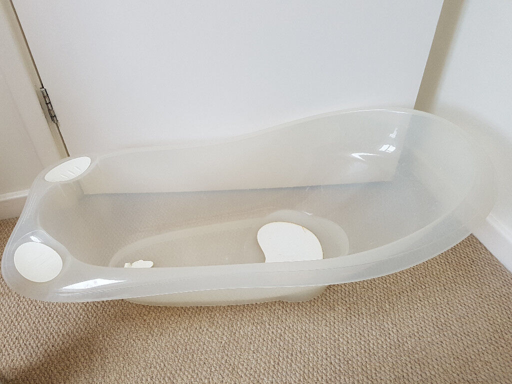 Baby bath tub, excellent condition, shallow, good support, toiletry ...