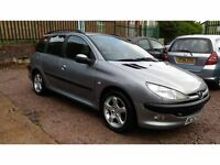 Estate Peugeot 206 SW 2.0 HDi XT 5dr CLEAN CAR FOR THE AGE!