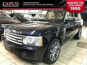 2007 Land Rover Range Rover HSE LEATHER/SUNROOF/TV-DVD/NAVI