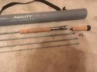 Fly rod 9'6 line weight 6#