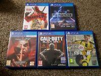 Ps4 games bundle.