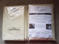 2 New/unopened Blackout blinds: 1.5m x 1.35m