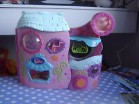 Littlest pet shop houses and figures bundle
