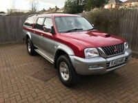 2003 MITSUBISHI L200 Pick up Commercial with canopy back! Tow pack! 90,000 Miles - August 2018 mot.