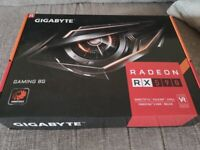 Gigabyte RX590 8Gb Graphics Card - Boxed with Warranty
