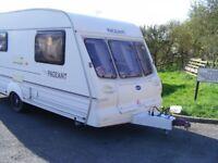 bailey pageant magenta 2 berth caravan 2001
