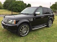 RANGE ROVER SPORT 3.6TDV8 HSE AUTO, 2008 WITH VERY LOW MILEAGE.
