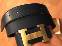 Hermes reversible belt for sale damaged from one side