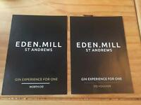2 Eden Mill gin experience, no expiry, rrp £20