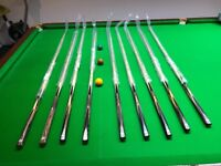 Kinver snooker cues high quality
