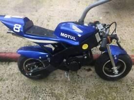 Pit bike and mini moto