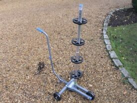 Tyre/Wheel Tree Dolly to hold 4 spare car wheels/Tyres