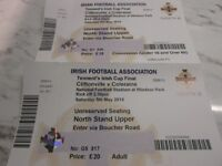 Irish Cup Final Tickets - Cliftonville end