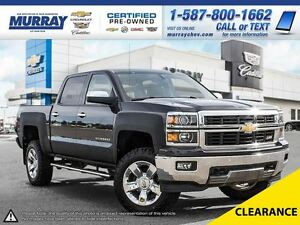 2014 Chevrolet Silverado 1500 LTZ **Heated/Cooled Leather! Bose!