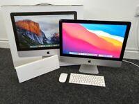 "Late 2015 iMac 21.5"" - screen damage - 8GB Ram - 1TB SATA HDD"