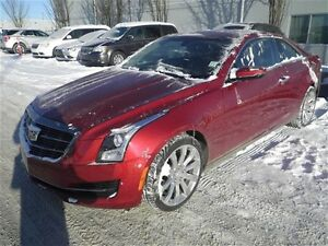 2015 Cadillac ATS 2.0L Turbo AWD Leather Sunroof Coupe