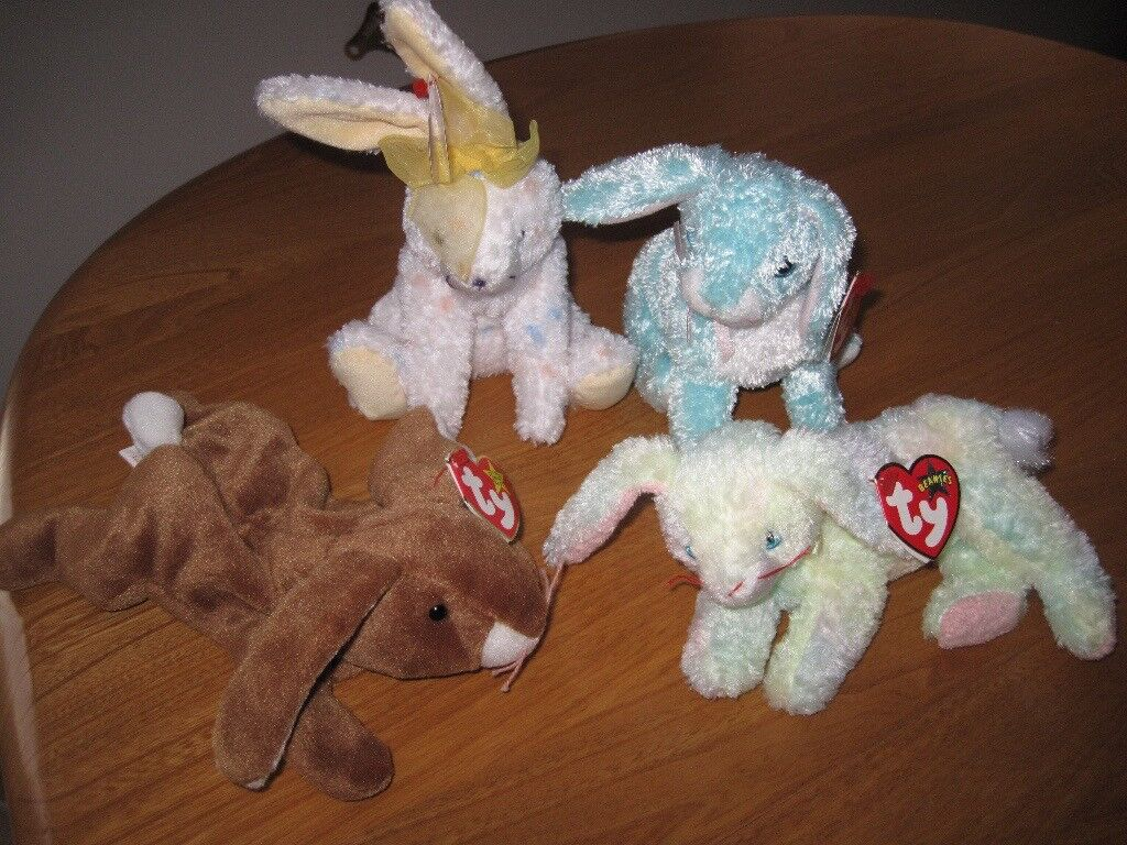 Ty Beanie Baby: Rabbits
