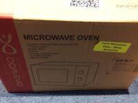 Brand new daewoo microwave
