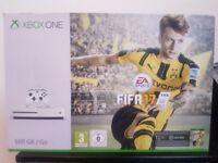 Xbox One S White 500gb + games