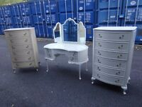 Olympus Antoinette Dressing Table With stool and 2x chest,can deliver