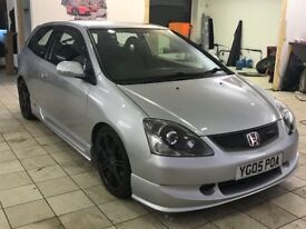!!12 MONTHS MOT!! 2005 HONDA CIVIC TYPE R / SERVICE HISTORY / DRIVES EXCELLENT / MUST BE SEEN