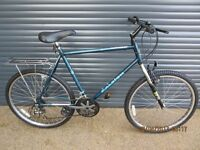 LARGE FRAME RALEIGH FRONT SUSPENSION BIKE IN ALMOST NEW CONDITION HAVING HAD VERY LITTLE USE..