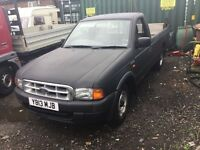 2001 ford ranger truck with tail lift in rare black lovely driver mot ideal export 5 speed Diesel