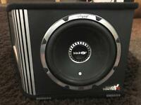12 inch vibe blackair subwoofer with built in amp - 1600 watts