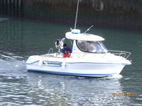 Boat Quicksilver Pilothouse 630SD .. 115HP Turbo Diesel