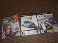 3 Playstation games
