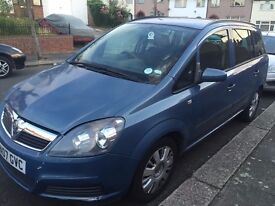 VAUXHALL ZAFIRA LIFE, 1.6 PETROL, 2007, One previous owner