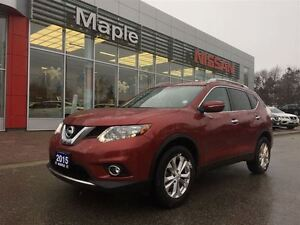 2015 Nissan Rogue SV AWD-1.9% FINANCING AVAILABLE!!  Sunroof, Al