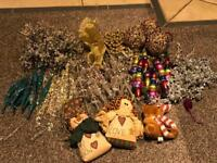 FREE assorted Christmas decorations