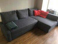 Clearance offer: 500£ Ikea forniture (Bed/Couch/Table/4 chairs/Chest Drawer/TV bench)Value 2000£ new