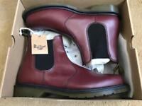 Dr Martens Mens 10 Cherry Red Rouge Smooth 2976