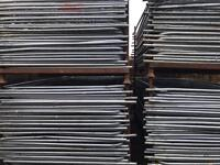 🔩 50 X Heras Security Fencing Sets (panels /feet /clips)