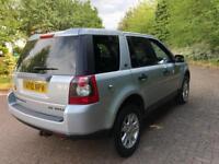 Land Rover freelander 2 XS 2.2 td4 Diesel 4wd 6 Speed SAT NAV 110k FSH top spec