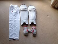 Cricket kit for sale, Pads, gloves, trousers & bag. Excellent condition, only used a couple of times
