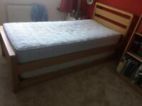 Captains Bed and 2 x Mattresses- Good Condition