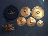 Cymbal Set - Zildjian ZXT & Stagg Splash