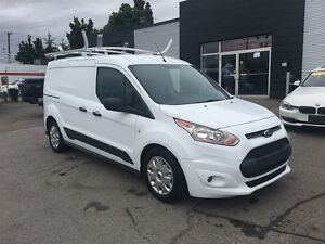 2014 Ford Transit Connect CAB DIVIDER, ROLL OUT AND LADDER RACK!