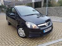 Vauxhall Zafira 1.6 i 16v Life 5dr WARRANTY LOW MILES CALL 07709297381